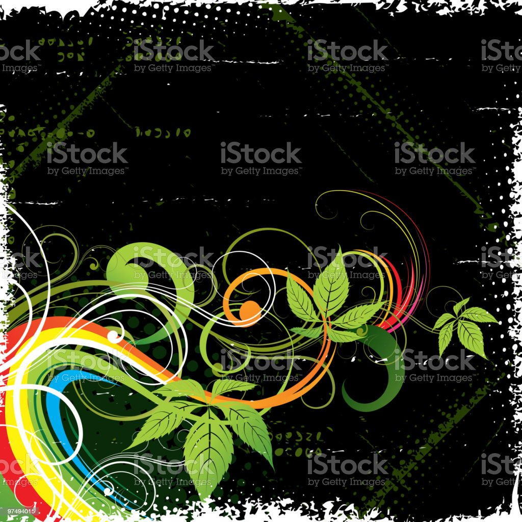 Vegetative background royalty-free vegetative background stock vector art & more images of abstract