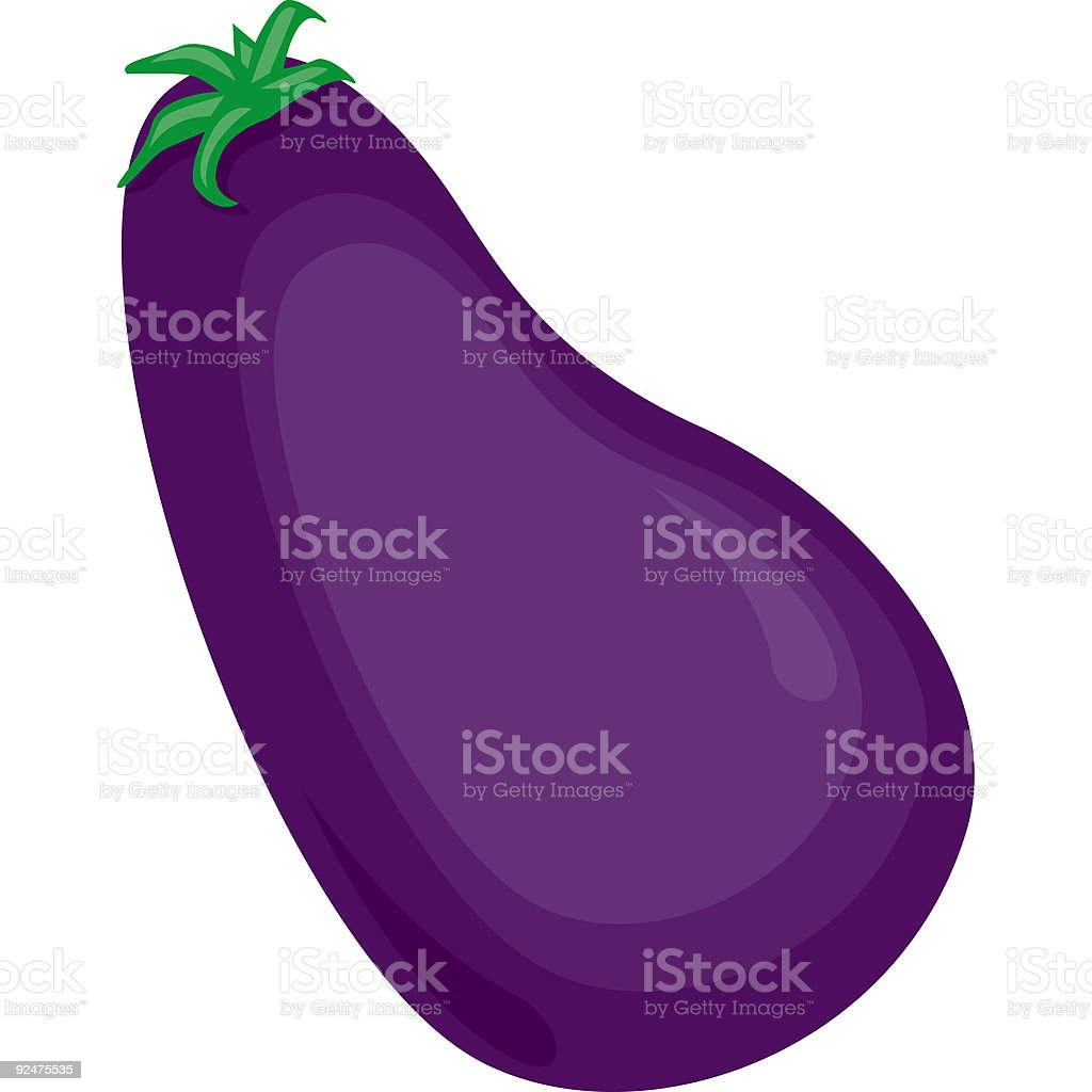 Veggie-Eggplant royalty-free veggieeggplant stock vector art & more images of cartoon