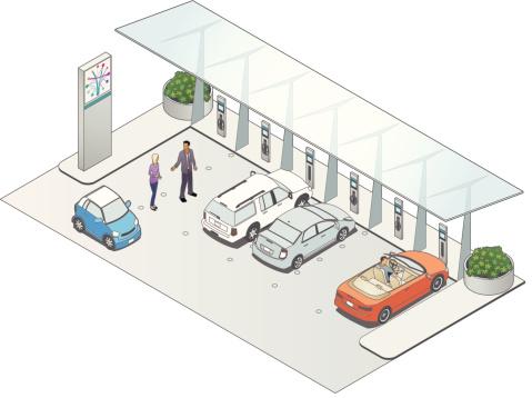 Vehicle Charging Station