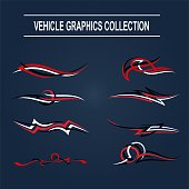 Vehicle Graphics Collection vector