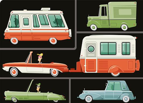 Vehicle set