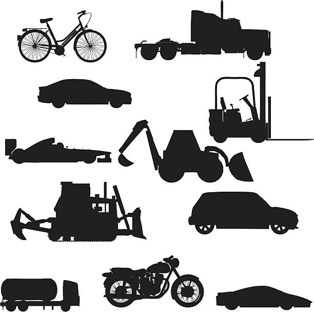 Vehicle Silhouette Collection (vector+jpg) File types included are ai, eps, svg, and various jpgs (3000x3000,1000x1000,500x500) indy racing league indycar series stock illustrations