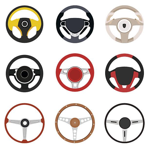 Vehicle steering wheel vector Vehicle steering wheel vector steering wheel stock illustrations