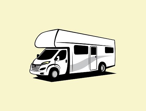 RV Vehicle vector