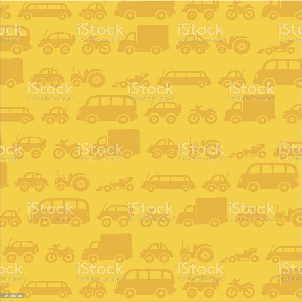 Vehicles background royalty-free stock vector art
