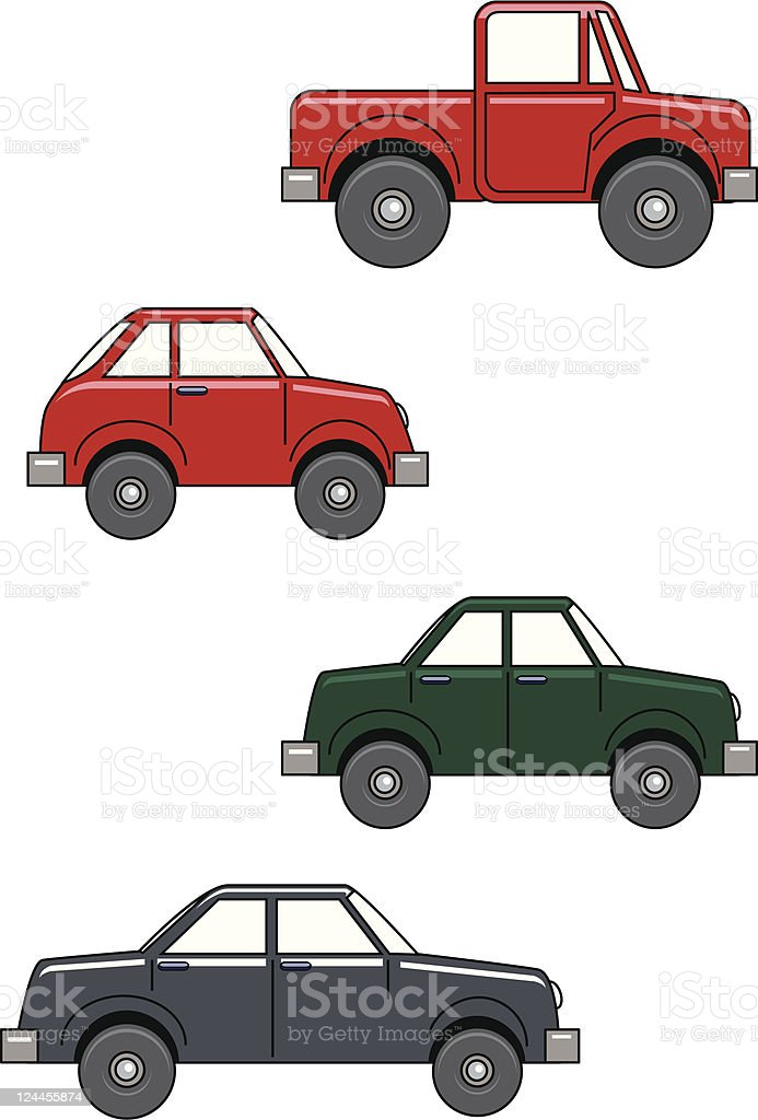 Vehicles royalty-free stock vector art