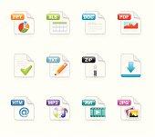 Velvet Icons - File extension