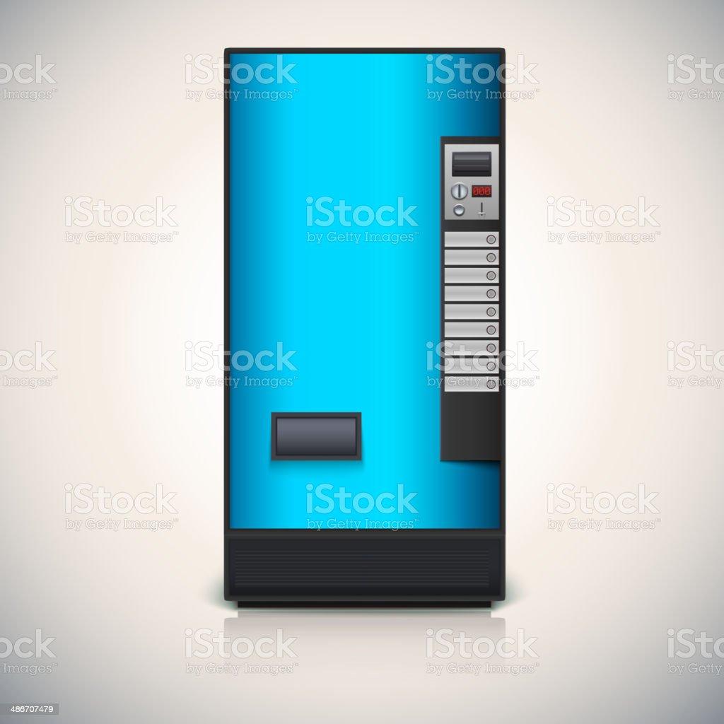 Vending machine for the sale of drinks. vector art illustration