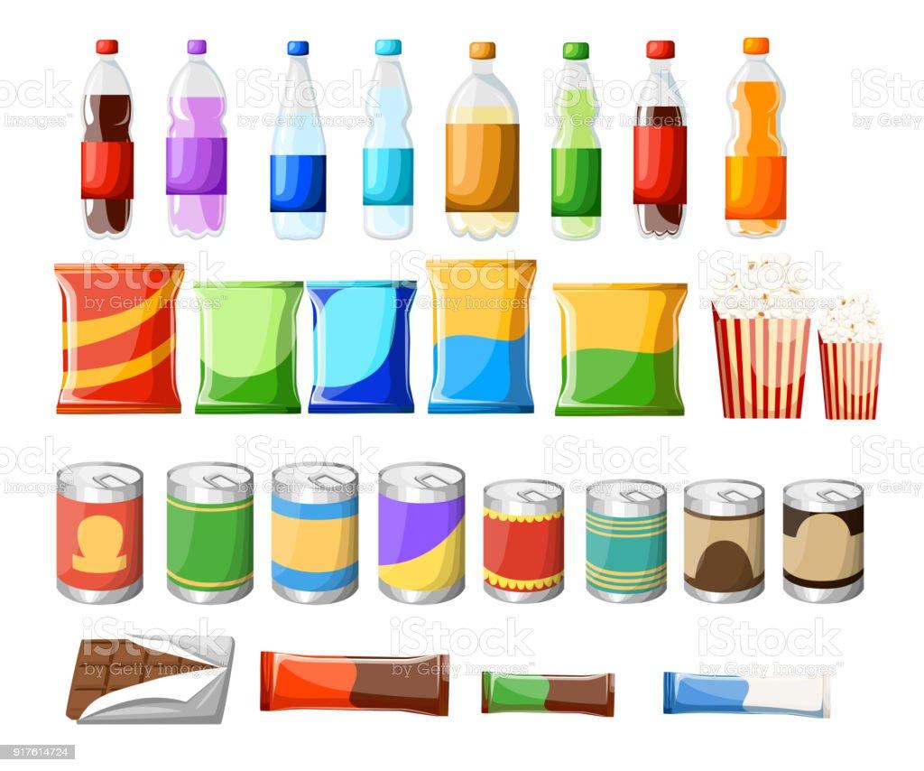 M quina expendedora producto elementos establecidos dibujo - Maquinas expendedoras de alimentos y bebidas ...