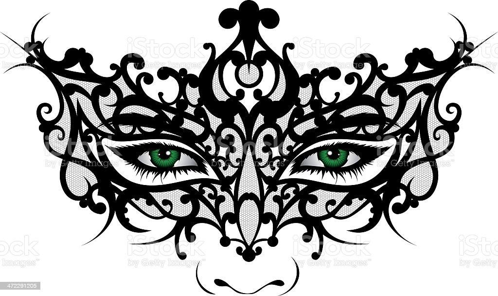 Venetian Mask royalty-free venetian mask stock vector art & more images of adult
