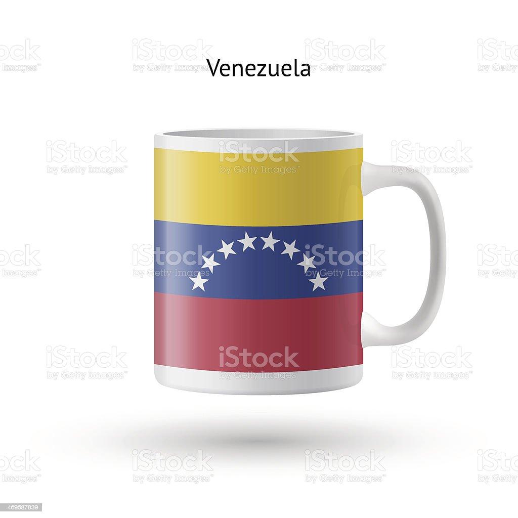 Venezuela flag souvenir mug on white background. royalty-free venezuela flag souvenir mug on white background stock vector art & more images of authority