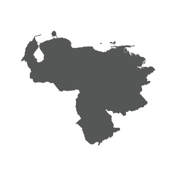Royalty Free Venezuela Map Clip Art, Vector Images & Illustrations ...