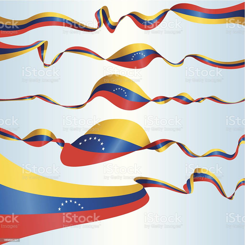 Venezuelan Banners royalty-free stock vector art