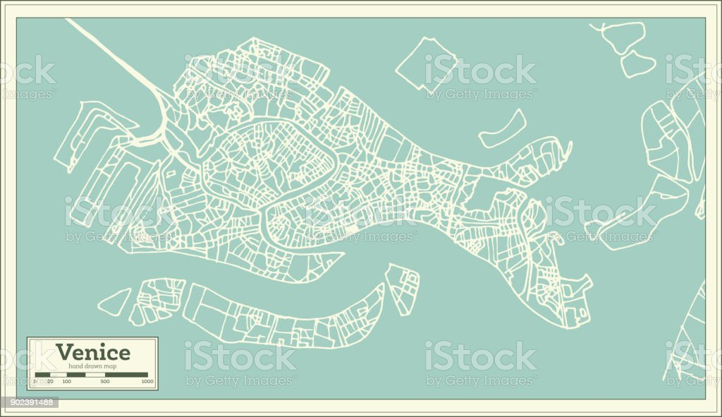 Venice italy city map in retro style outline map stock vector art venice italy city map in retro style outline map royalty free venice italy altavistaventures Image collections