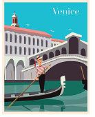 istock Venice Scene Poster 1187713752