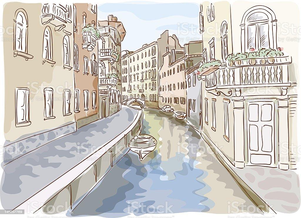 Venice. royalty-free stock vector art