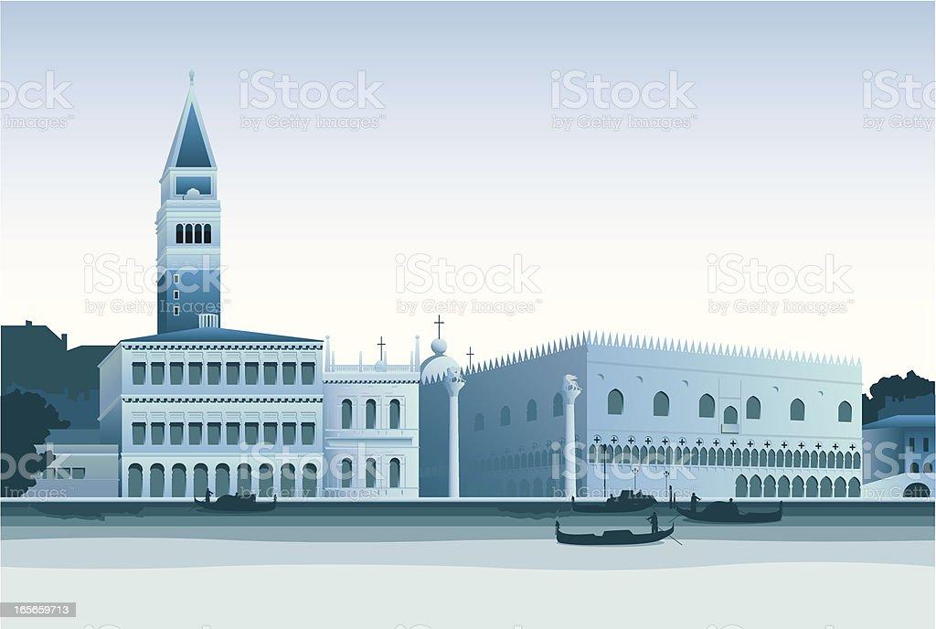Venice royalty-free stock vector art