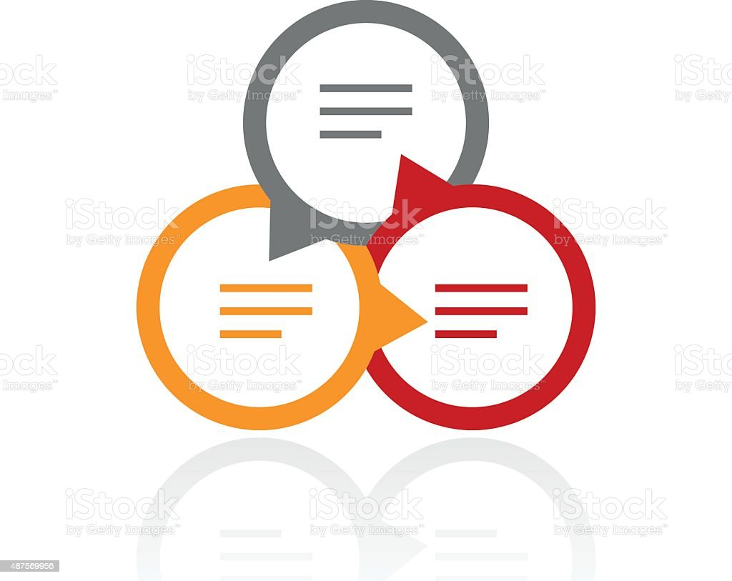 Royalty Free Venn Diagram Vector Clip Art  Vector Images
