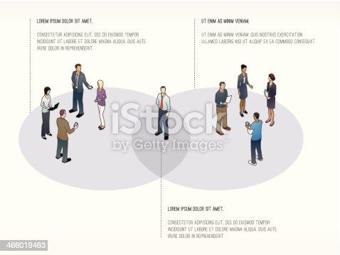 istock Venn Diagram Slide Template 466019463