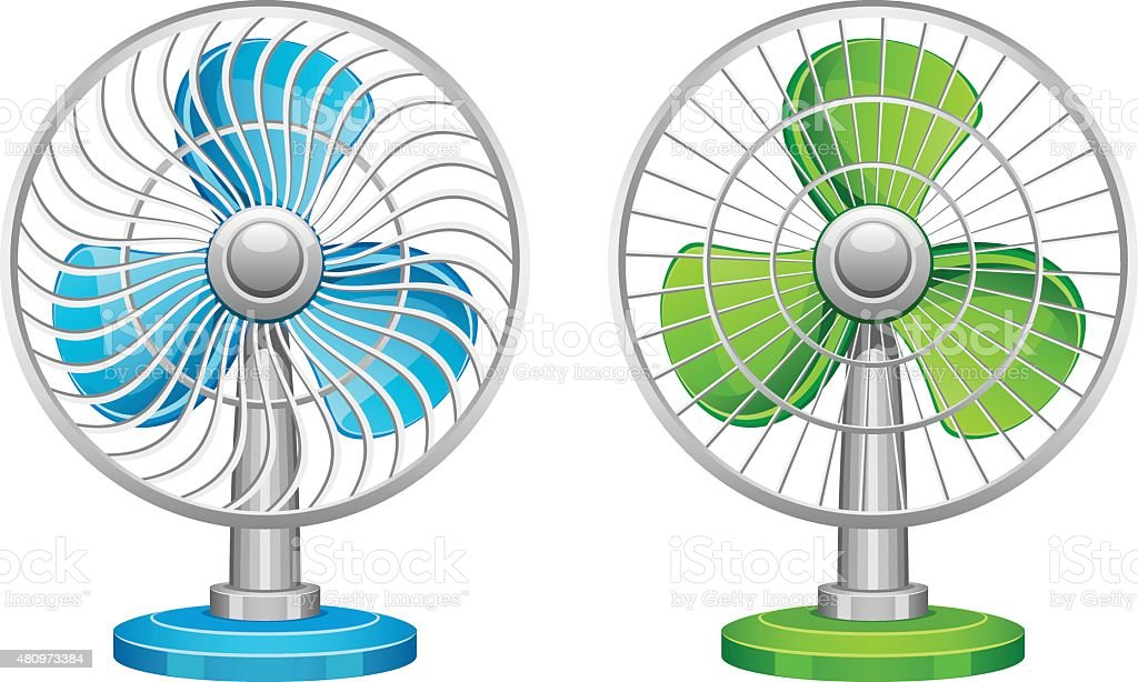 Ventilator vector art illustration
