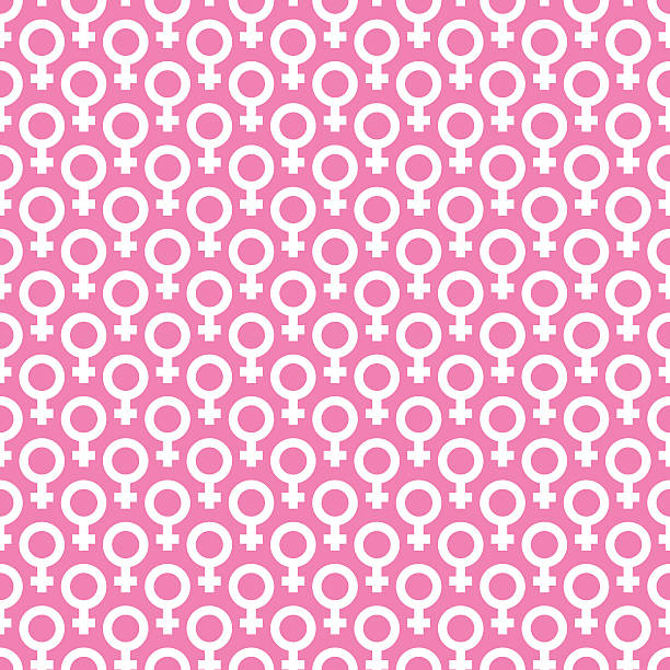 venus symbol pattern. - backgrounds symbols stock illustrations