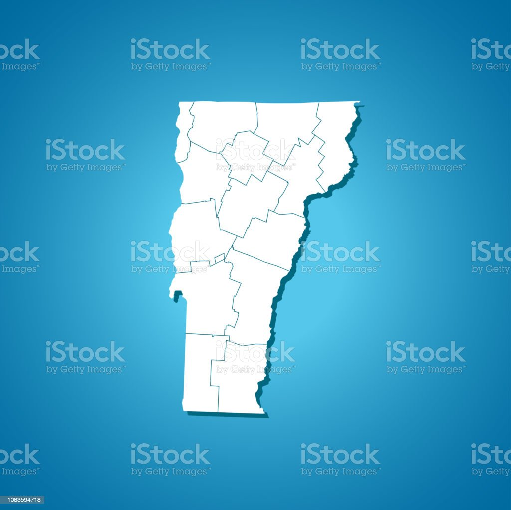 Map Of America Vermont.Vermont Map Stock Vector Art More Images Of Afghanistan Istock