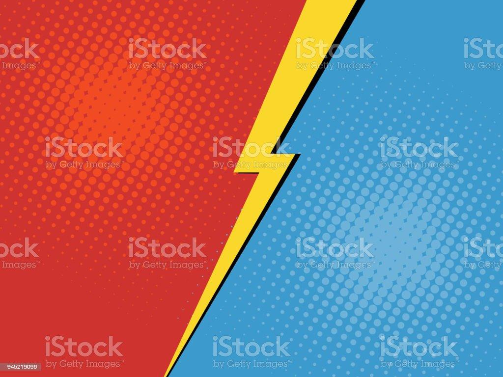 Versus background vector art illustration