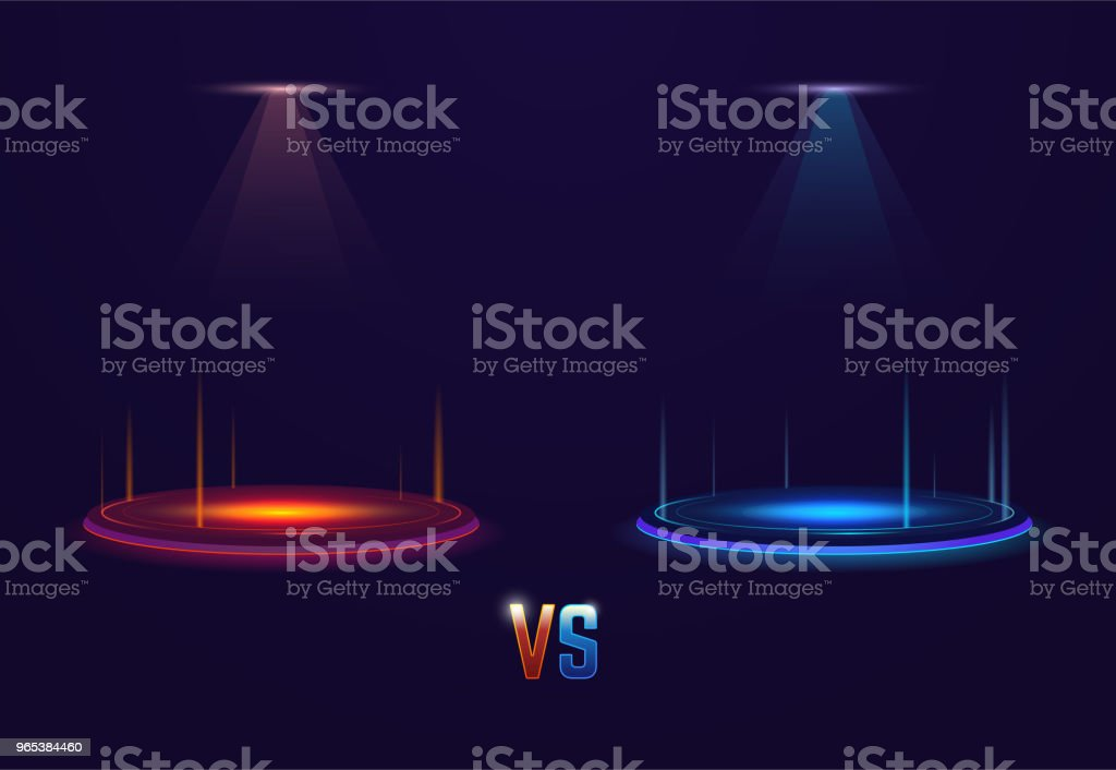 Versus glowing portal royalty-free versus glowing portal stock vector art & more images of abstract