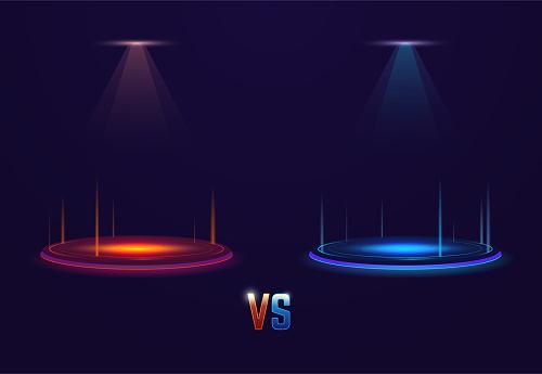 Versus glowing portal