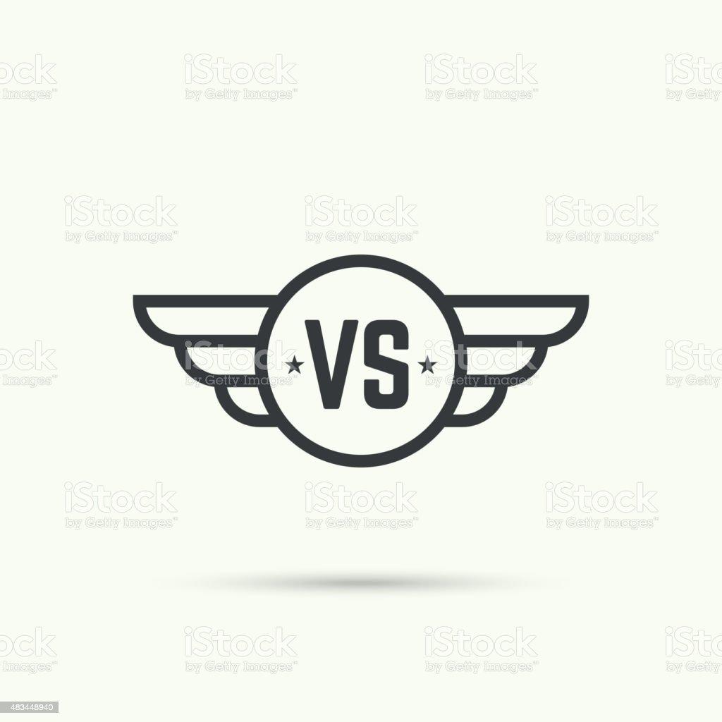 Versus Sign Stock Illustration Download Image Now Istock