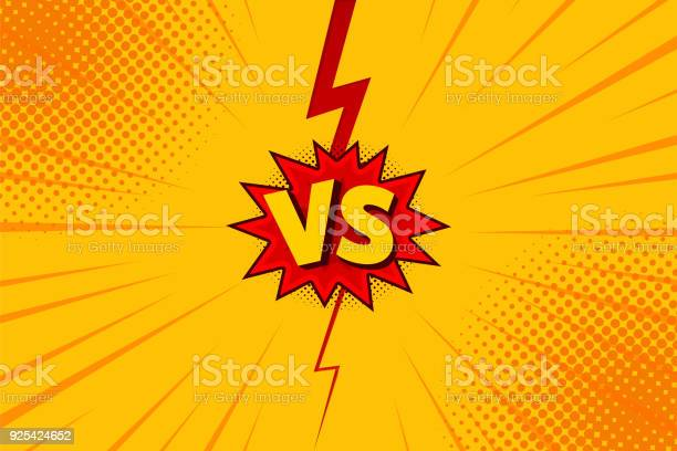 Versus vs letters fight backgrounds in flat comics style design with vector id925424652?b=1&k=6&m=925424652&s=612x612&h=bsceplgp5rb2lnuztvdumwbimxuiczs apeyt29ro9w=