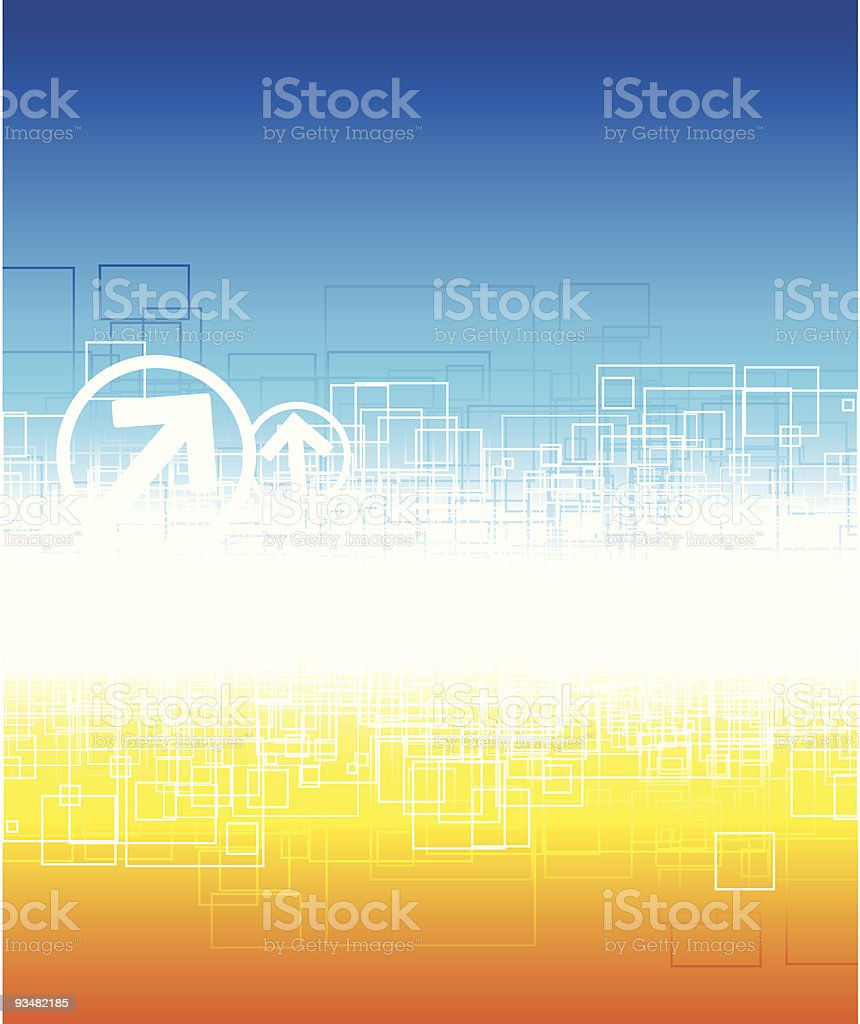 Vertical abstract background royalty-free stock vector art