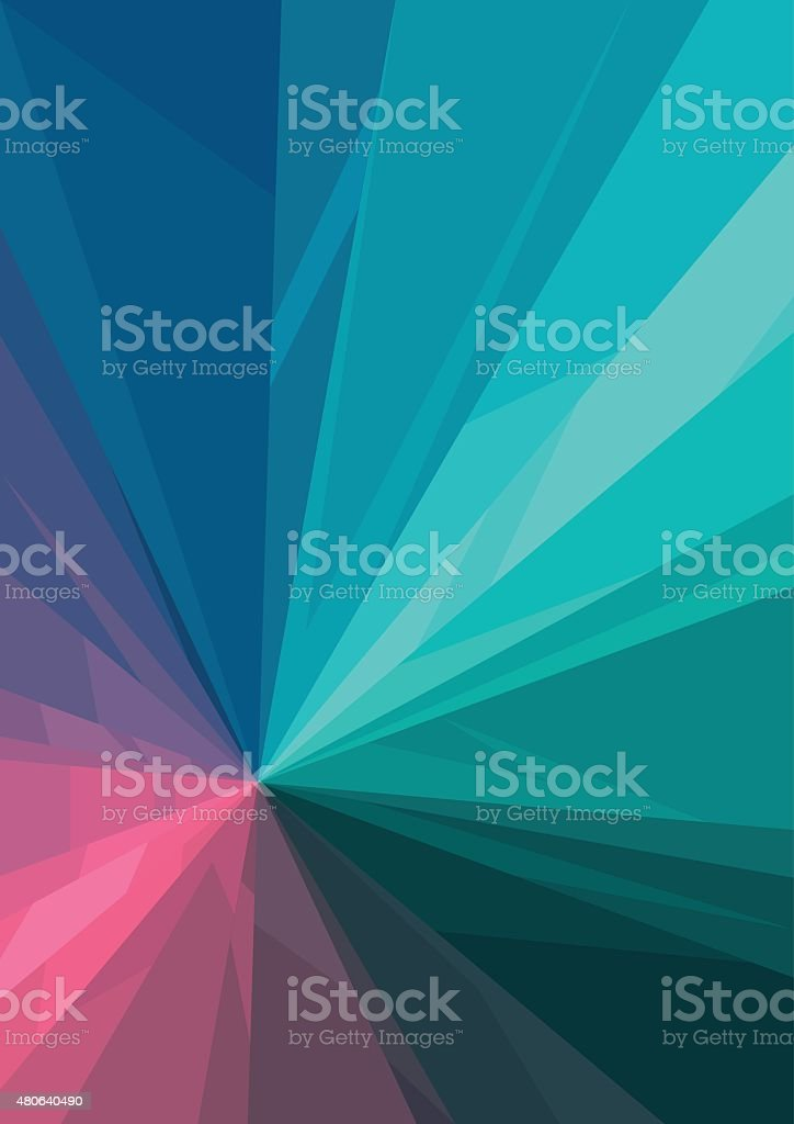Vertical abstract background with color graphic elements. vector art illustration