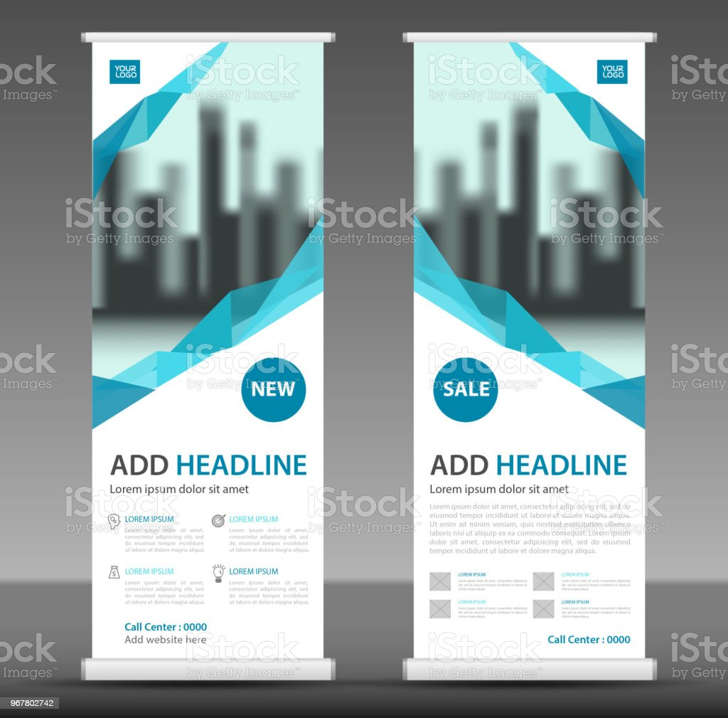 Vertical Banner Design Roll Up Banner Template Poster Advertisement