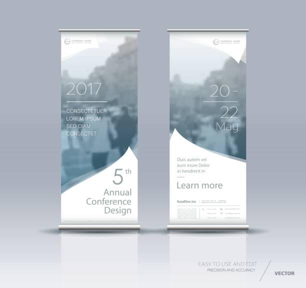 垂直バナー デザイン - 展示会点のイラスト素材/クリップアート素材/マンガ素材/アイコン素材