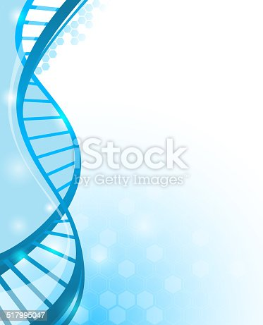 Abstract DNA Background with copy space