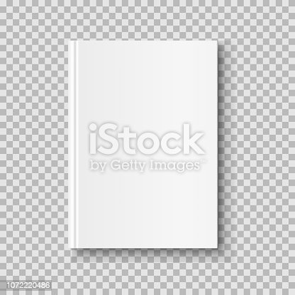3D realistic book, notepad, diary etc vector illustration