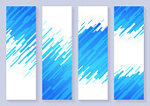 istock Vertical Dash Abstract Background Banners 1282736633