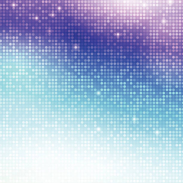 Vertical disco mosaic Disco vector background. Vertical mosaic with light spots nightclub stock illustrations