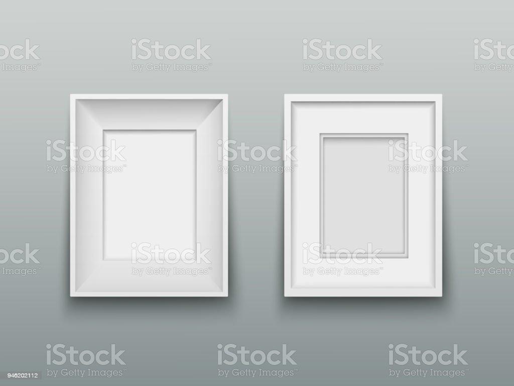 Ilustración de Vertical Marco Para Fotos O Cuadros En La Pared y más ...