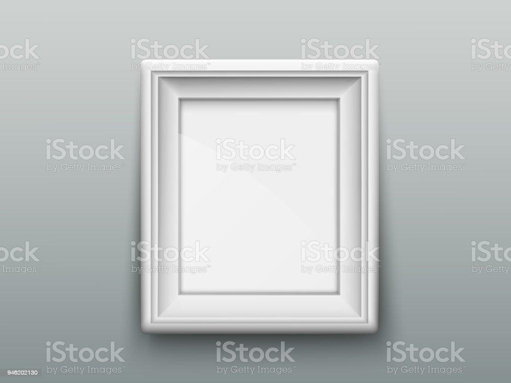 Vertical Marco Para Fotos O Cuadros En La Pared - Arte vectorial de ...