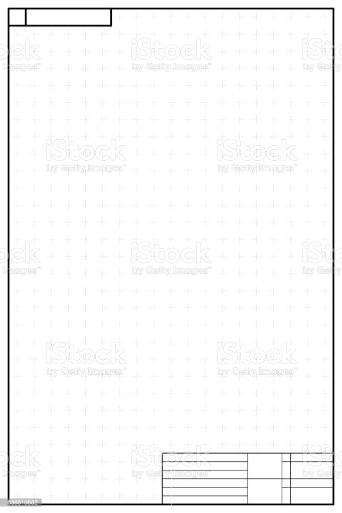 Vertical layout template in blueprint style stock vector art more vertical layout template in blueprint style royalty free vertical layout template in blueprint style stock malvernweather Images