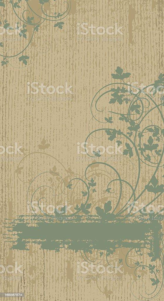 Vertical Leaf Banner royalty-free vertical leaf banner stock vector art & more images of abstract