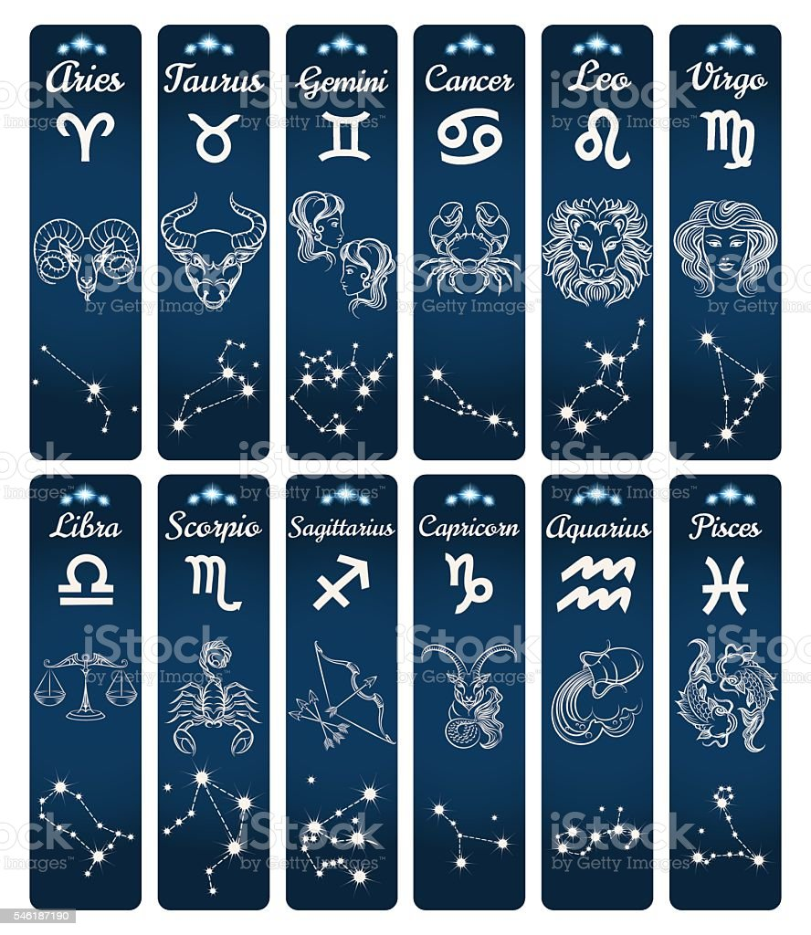 0c06efc71 Vertical zodiac signs banners royalty-free vertical zodiac signs banners  stock illustration - download image
