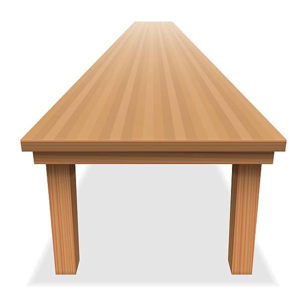 非常に大きな空のテーブルロングフェスティブホリデーキャンペーン - テーブル点のイラスト素材/クリップアート素材/マンガ素材/アイコン素材
