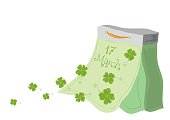 very lucky St Patricks Day