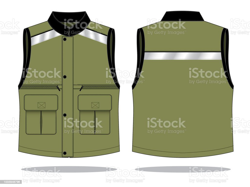 vest design for template stock vector art more images of army