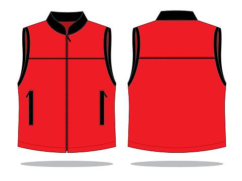 Vest Design Vector