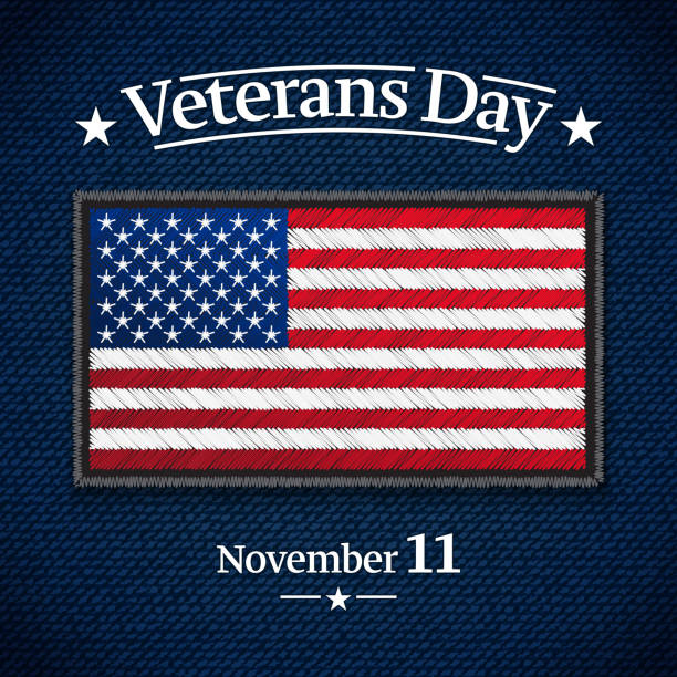 veterans day banner - memorial day weekend stock illustrations