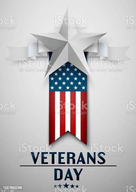 Veterans day greeting card with usa flag and star on white background vector id1057663266?b=1&k=6&m=1057663266&s=612x612&h=j2ceg hca xlgz9iafurde6yogl bmdcxioghm gubo=